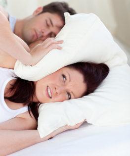 snoring sleep